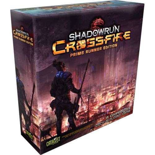 Shadowrun Crossfire: Deck Building Game (Prime Runner Edition)