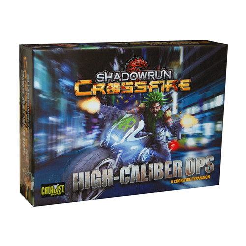 Shadowrun Crossfire: High Caliber Ops Expansion