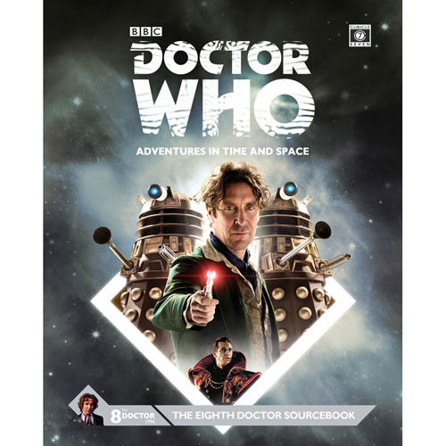 Doctor Who: Adventures in Time & Space RPG - The Eighth Doctor