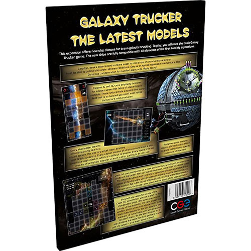 Galaxy Truckers: Latest Models Expansion