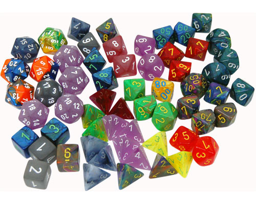 Ches Bag Of Dice Discontinued