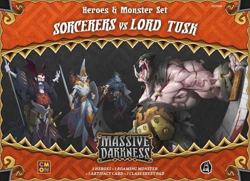 Massive Darkness: Sorcerers vs. Lord Tusk
