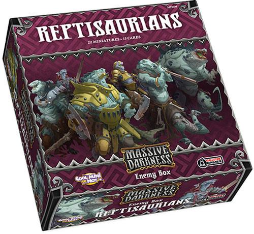 Massive Darkness: Reptisaurians Enemy Box