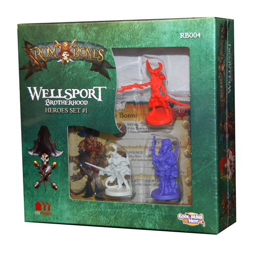 Rum and Bones: Wellsport Brotherhood - Hero Set #1