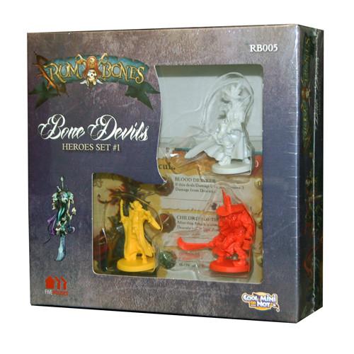 Rum and Bones: Bone Devils - Hero Set #1
