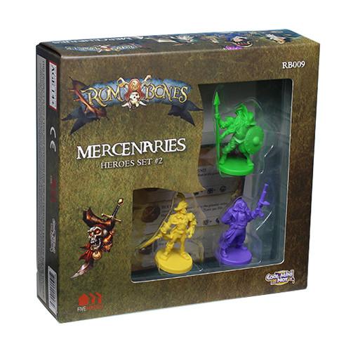 Rum and Bones: Mercenaries - Hero Set #2