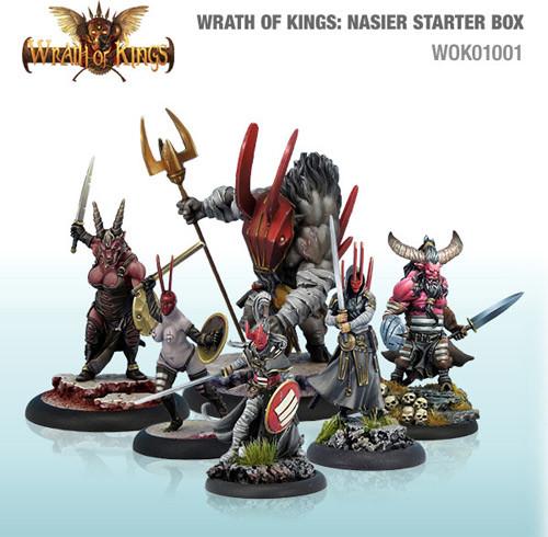 Wrath of Kings: House Nasier - Starter Box (30)