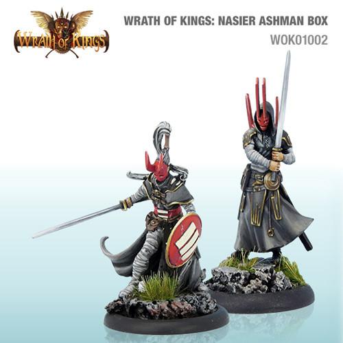 Wrath of Kings: House Nasier - Ashmen Box #1 (14)