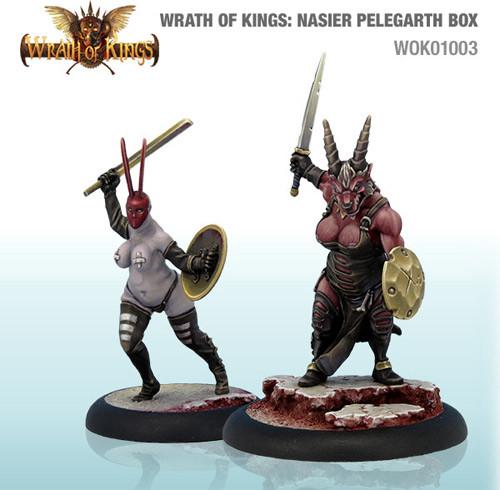 Wrath of Kings: House Nasier - Pelegarth Box #1 (14)