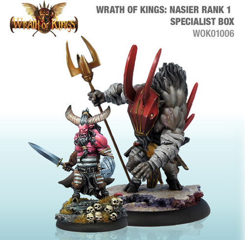Wrath of Kings: House Nasier - Specialist Box #1 (2)