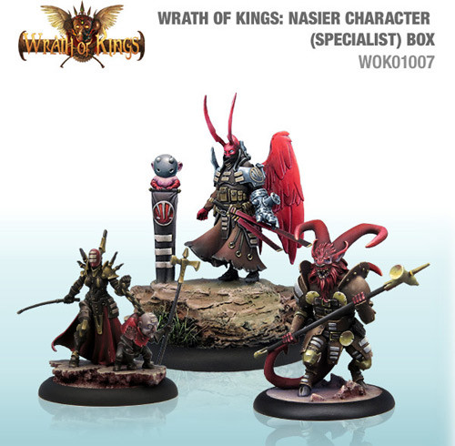 Wrath of Kings: House Nasier - Character Box #2 (3)