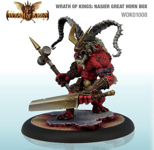 Wrath of Kings: House Nasier - Specialist Box #2 - Greathorn Box (1)
