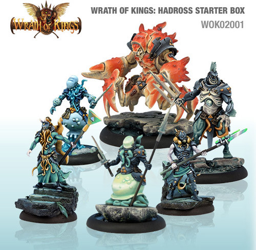 Wrath of Kings: House Hadross - Starter Box (24)
