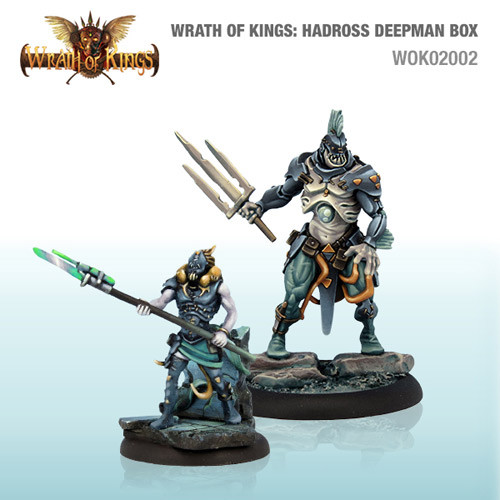 Wrath of Kings: House Hadross - Deepman Box #1 (14)