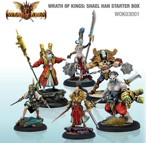 Wrath of Kings: House Shael Han - Starter Box (24)