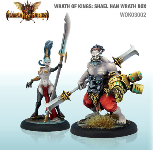 Wrath of Kings: House Shael Han - Wrath Box #1 (8)
