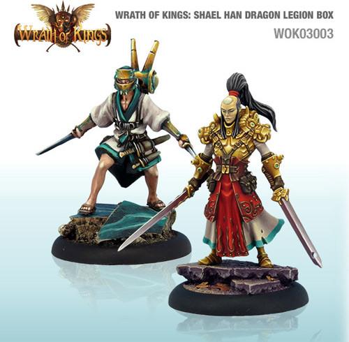 Wrath of Kings: House Shael Han - Dragon Legion Box #1 (14)