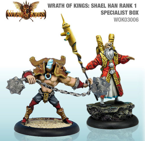Wrath of Kings: House Shael Han - Specialist Box #1 (2)
