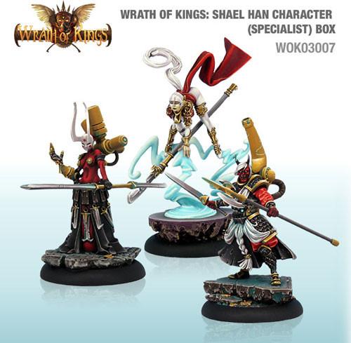 Wrath of Kings: House Shael Han - Character Box #2 (3)