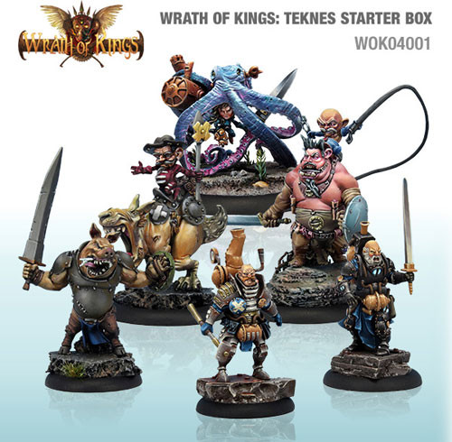 Wrath of Kings: House Teknes - Starter Box (30)