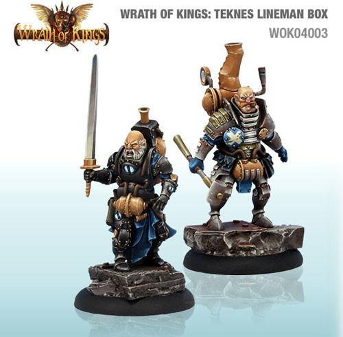 Wrath of Kings: House Teknes - Lineman Box #1 (14)