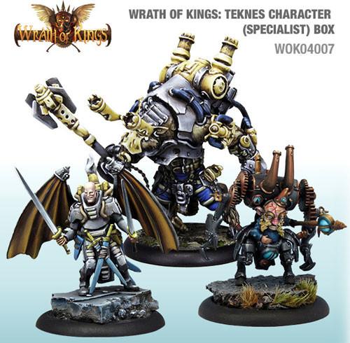 Wrath of Kings: House Teknes - Character Box #2 (3)