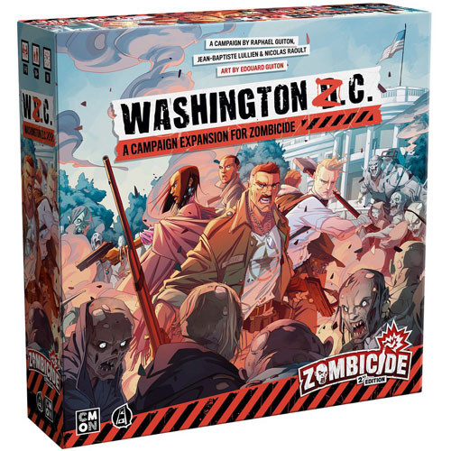 Zombicide 2E: Washington Z.C. Expansion