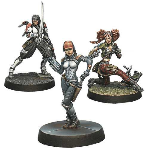 Infinity: Dire Foes Mission Pack 3 - Dark Mist