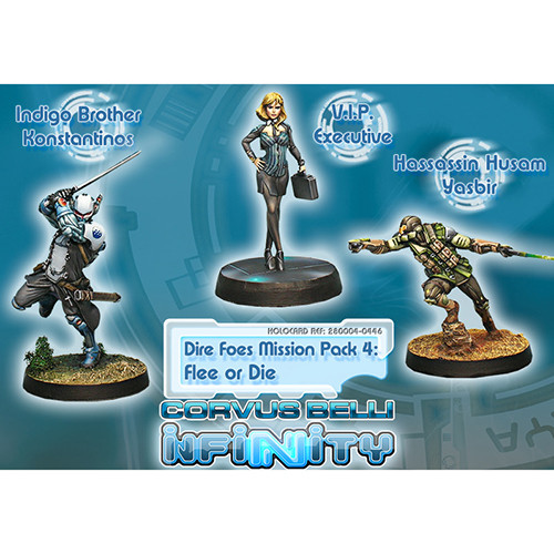 Infinity: Dire Foes Mission Pack 4 - Flee or Die