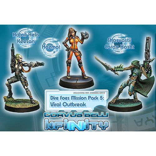Infinity: Dire Foes Mission Pack 5 - Viral Outbreak