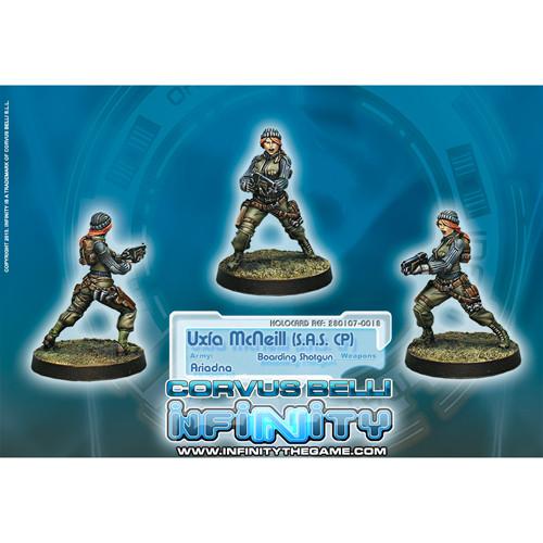 Infinity: Ariadna - Uxia McNeill (S.A.S. CP) (Boarding Shotgun)