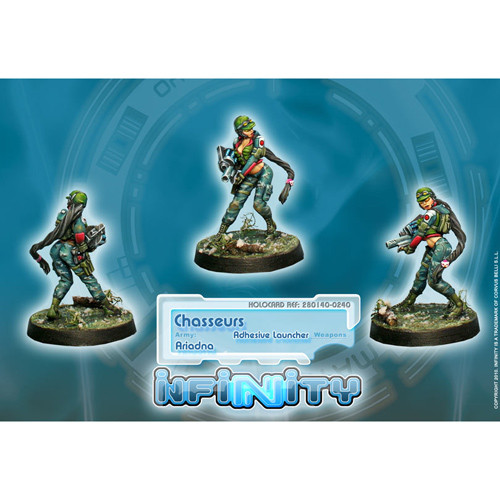 Infinity: Ariadna - Chasseurs (Adhesive Launcher)