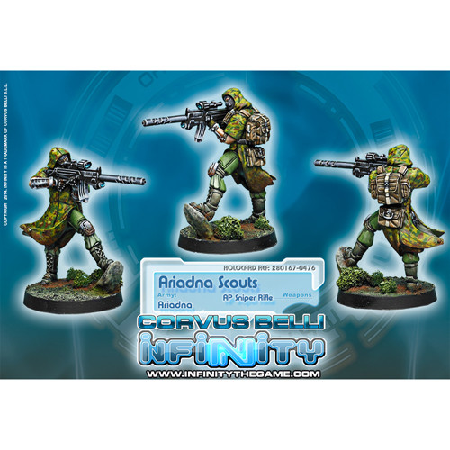 Infinity: Ariadna - Scouts (1)