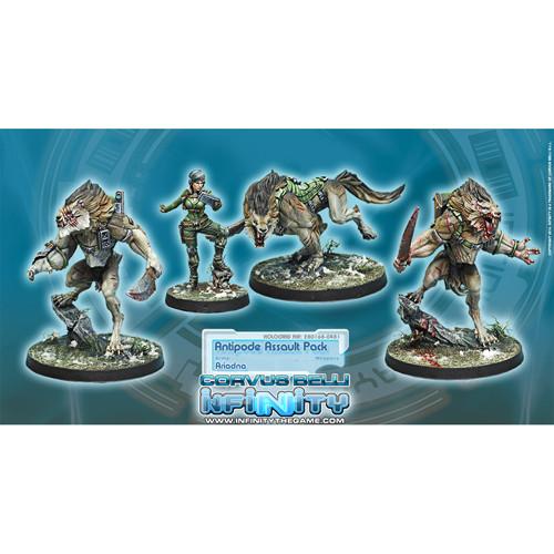 Infinity: Ariadna - Antipode Assault Pack (4)