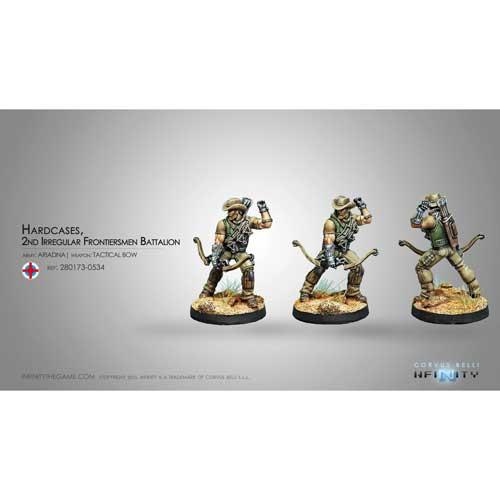 Infinity: Ariadna - Hardcases, 2nd Irregular Frontiersmen Battalion