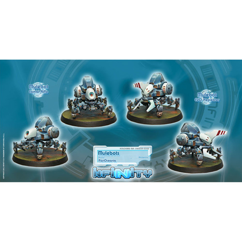 Infinity: PanOceania - Mulebots Unit Box (Combi Rfl, EVO Repeater) (2)
