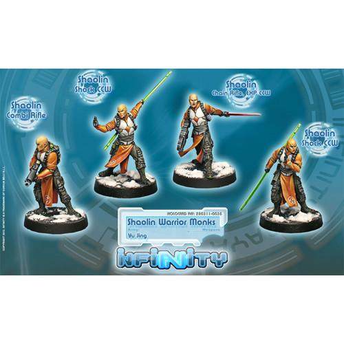 Infinity: Yu Jing - Shaolin Warrior Monks Unit Box (4)