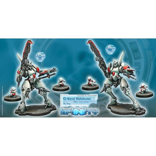 Infinity: Yu Jing - O-Yoroi Kidobutai Unit Box (3)