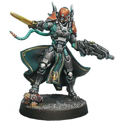 Infinity: Yu Jing - Imperial Agent, Crane Rank (Multi Rfl, CCW)