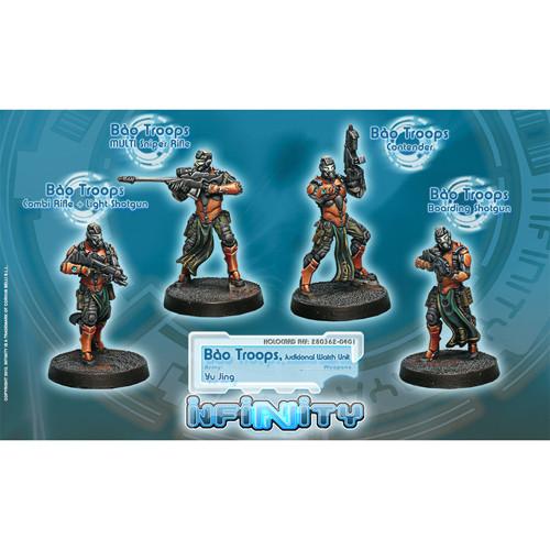 Infinity: Yu Jing - Bao Troops, Judicial Watch Unit Box (4)