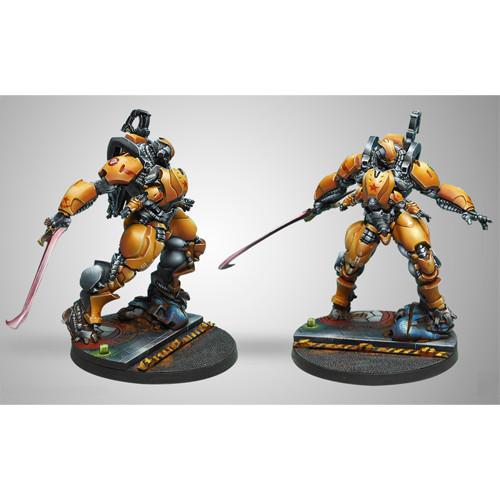 Infinity: Yu Jing - Guijia Squadrons (HMG Multi + Heavy Flamethrower)