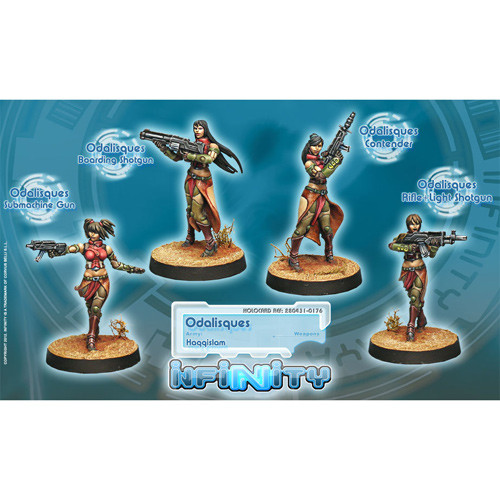 Infinity: Haqqislam - Odalisques Unit Box (4)