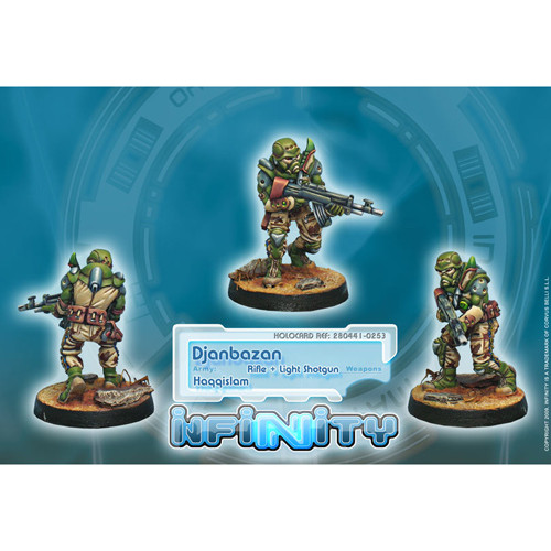 Infinity: Haqqislam - Djanbazan (Rfl + Lt Shotgun)