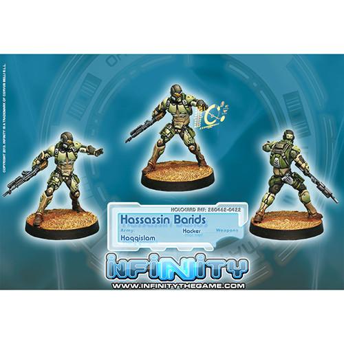 Infinity: Haqqislam - Hassassin Barids (Hacker)