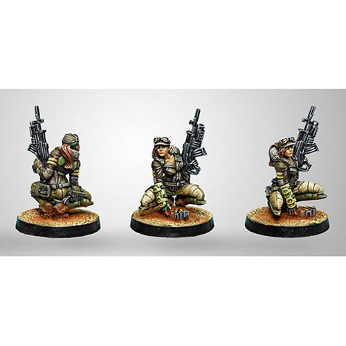 Infinity: Haqqislam - Hunzakuts (Rifle + Light Grenade Launcher) (1)
