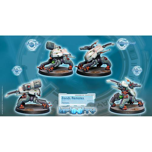 Infinity: Nomads - Zonds Remotes Unit Box (Vertigo & Reaktion) (2)