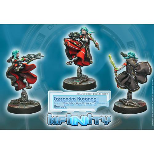 Infinity: Nomads - Cassandra Kusanagi (Multi Rfl + Lt FT, Shock CCW)