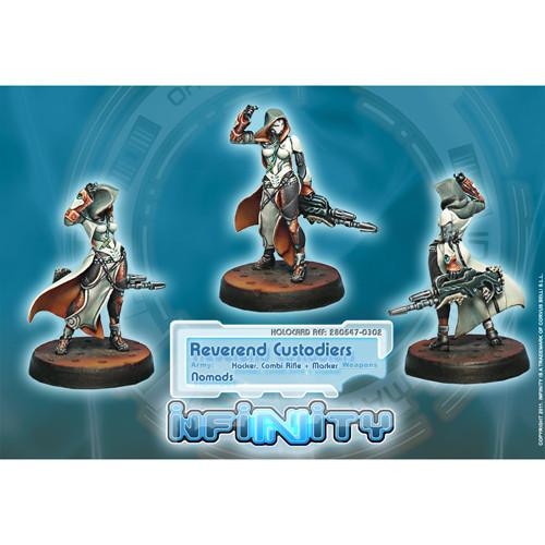 Infinity: Nomads - Reverend Custodiers (Hacker, Combi Rfl + Marker)