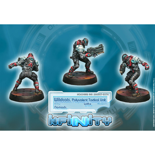 Infinity: Nomads - Wildcats, Multipurpose Tactical Unit (Spitfire)