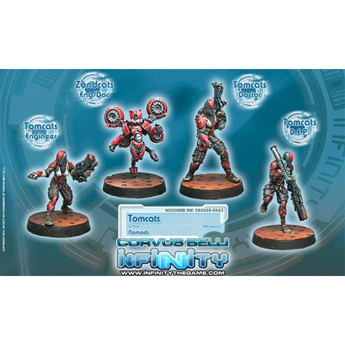 Infinity: Nomads - Tomcats Emergency & Rescue Special Team Box (4)